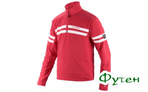 Флис мужской Hyra HALF ZIP red-white