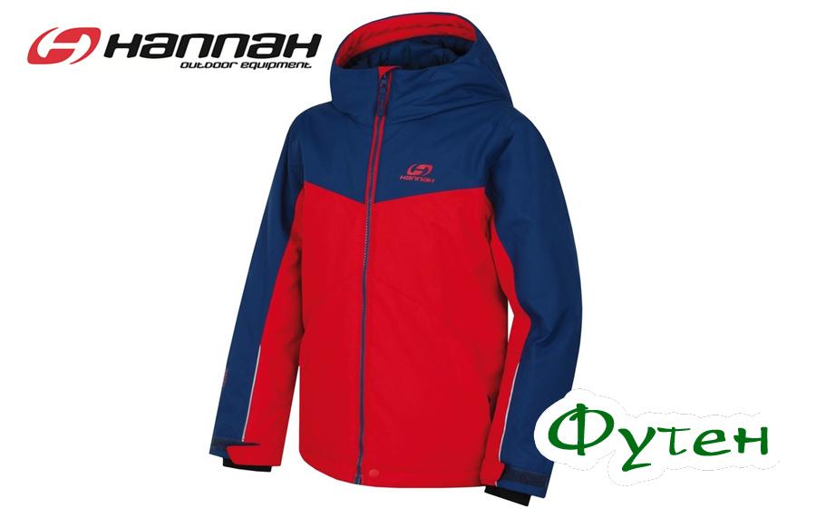 Куртка детская Hannah RAFFAELA JR racing red/poseidon
