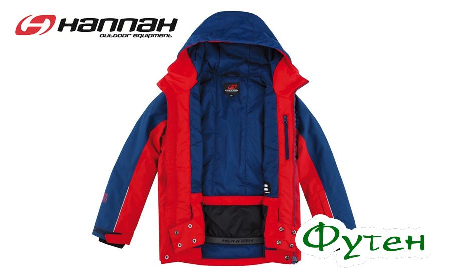 Куртка Hannah RAFFAELA JR racing red/poseidon