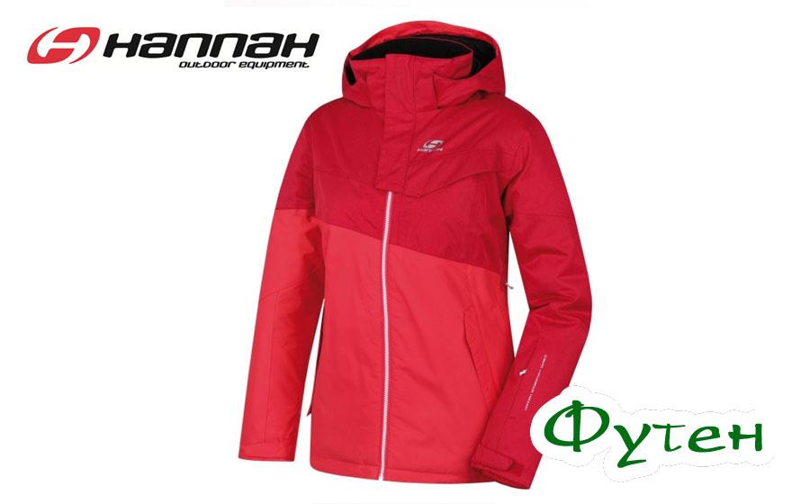 Куртка лыжная женская Hannah LD TIA teaberry/barberry mel