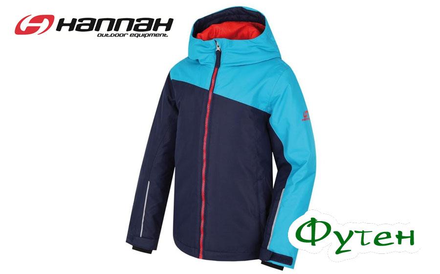 Куртка детская лыжная Hannah LEIA JR peacoat/caneel bay