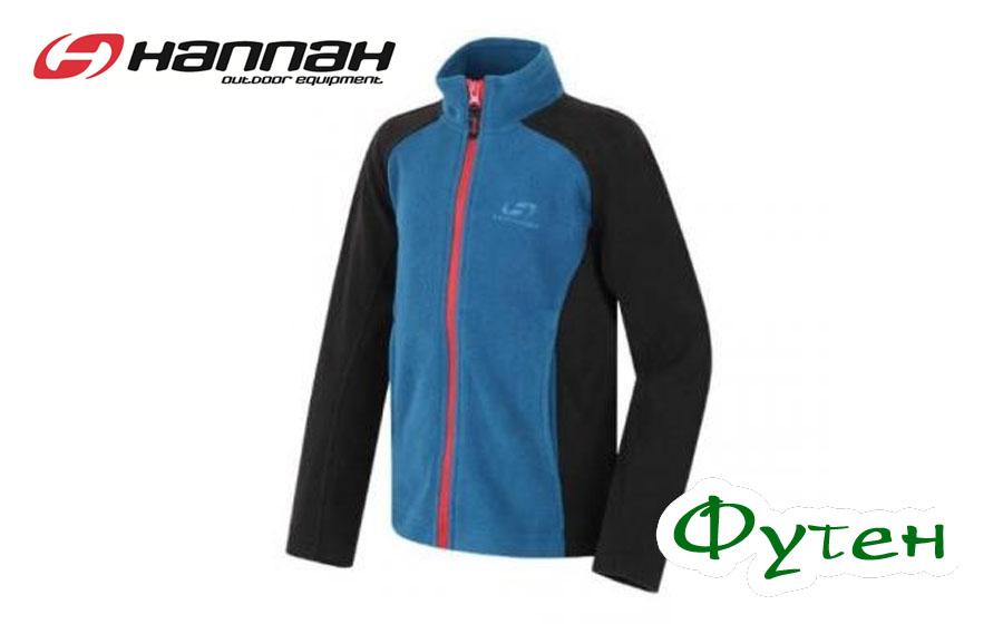 Флисовая куртка детская Hannah OGGIE JR II moroccan blue/anthrac