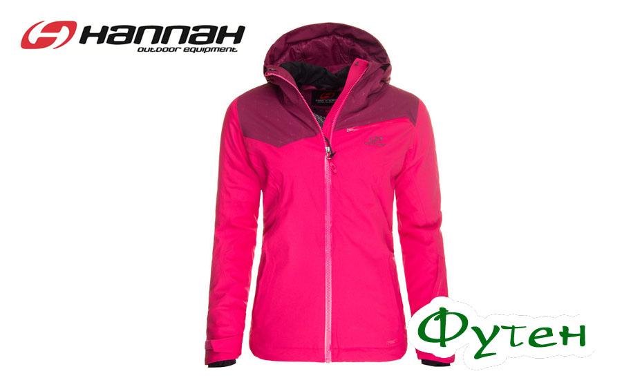 Куртка женская лыжная Hannah LD LAUREN rose red/beaujolais