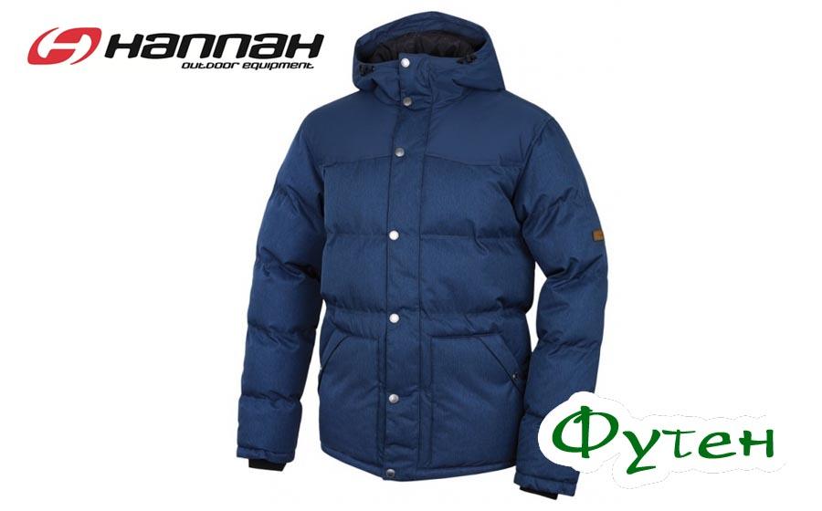 Куртка мужская Hannah SLASHER II dark denim mel/majolica blue