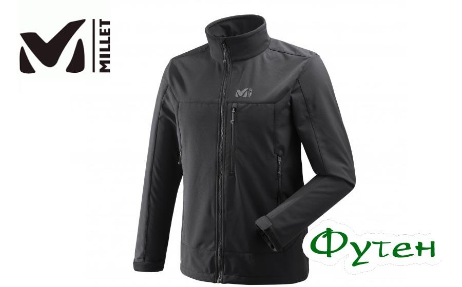 Куртка мужская Millet Softshell TRACK JKT black
