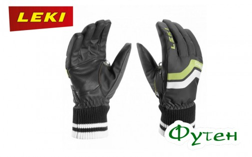 Leki ELEMENTS OSMIUM S charcoal-lime-white-black