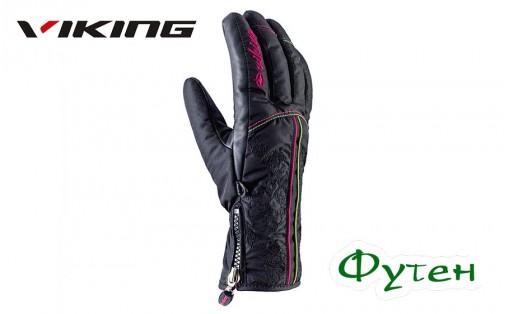 Перчатки женские Viking GRACE черные