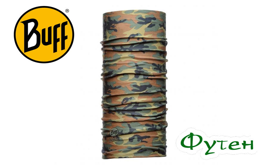 Бафф повязка Professional Buff DRY-COOL CAMU