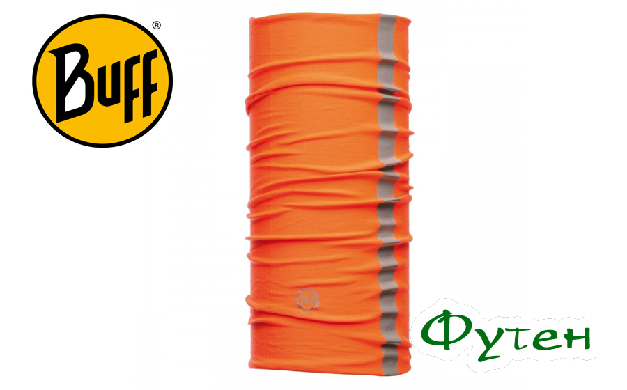 Бафф повязка Professional Buff DRY-COOL REFLECTIVE ORANGE FLUOR