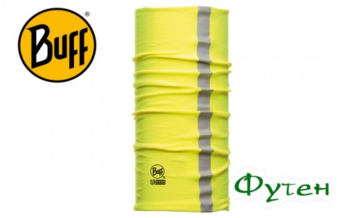 повязка Buff DRY-COOL REFLECTIVE YELLOW FLUOR