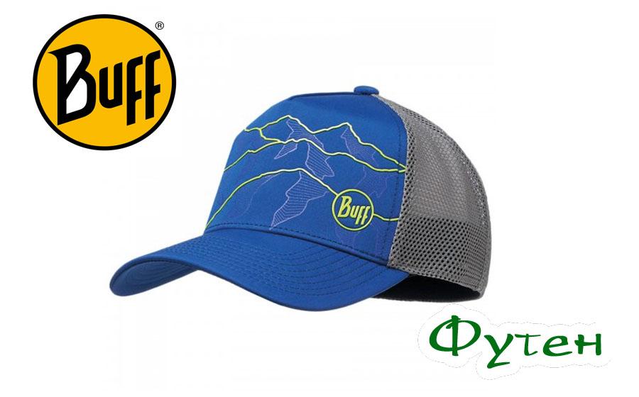 Кепка Buff TRUCKER TECH CAP solid cape blue