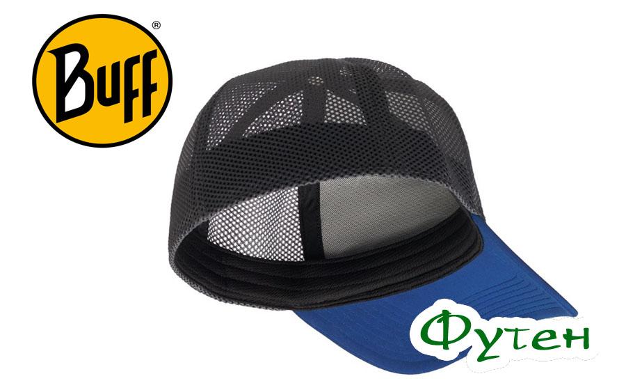 Кепка летняя Buff TRUCKER TECH CAP solid cape blue