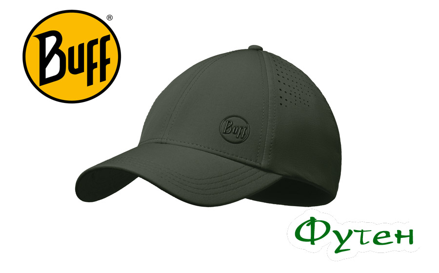Кепка Buff TREK CAP hashtag moss green