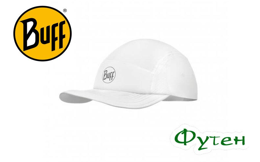 Кепка Buff RUN CAP SOLID white