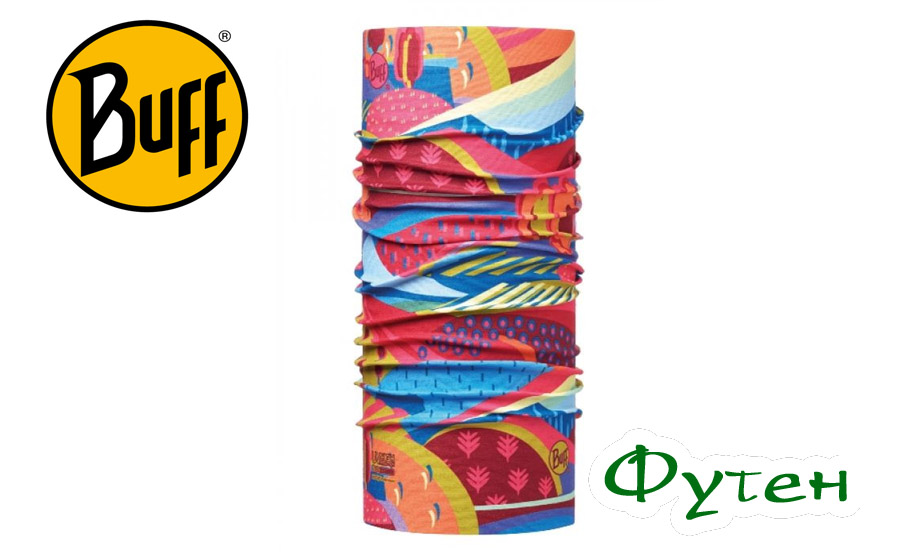 Buff Junior COLOURFUL MOUNTAINS MULTI