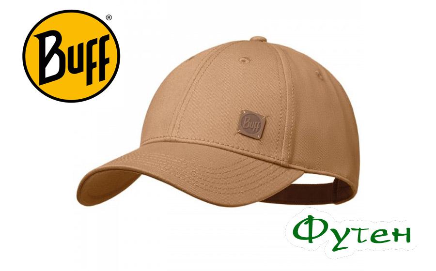 Кепка Buff BASEBALL CAP SOLID nut