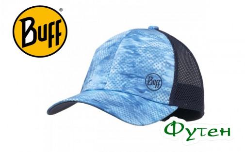 Кепка Buff TRUCKER CAP pelagic camo blue
