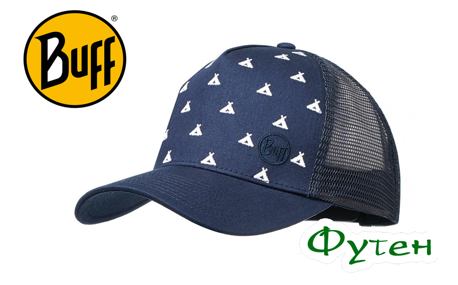 Кепка Buff TRUCKER CAP campfire navy