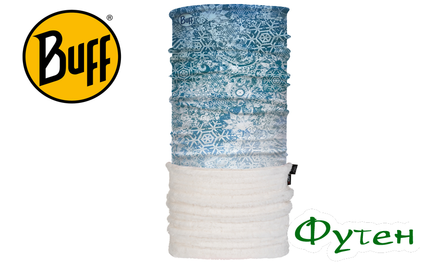 Бафф зимний Buff POLAR THERMAL fairy snow turquoise