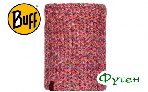 Бафф Buff KNITTED & POLAR NECKWARMER MARGO flamingo pink