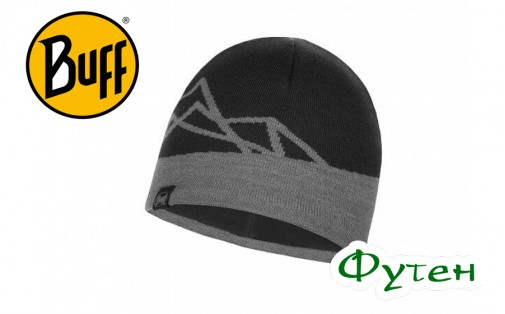 Шапка Buff KNITTED & POLAR HAT YOST black