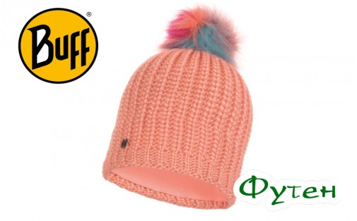 Шапка Buff KNITTED & POLAR HAT DANIA peach