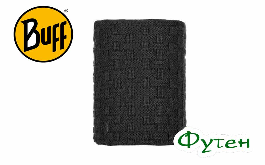 Buff KNITTED & POLAR NECKWARMER AIRON black
