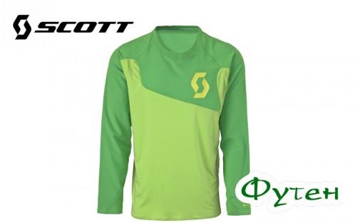 Джерси SCOTT AMT зеленая