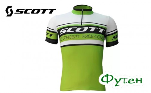 Джерси SCOTT CLASSIC 20 зелёный/чёрный