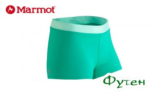 Шорты женские Marmot MOTION SHORT gem green/ice green