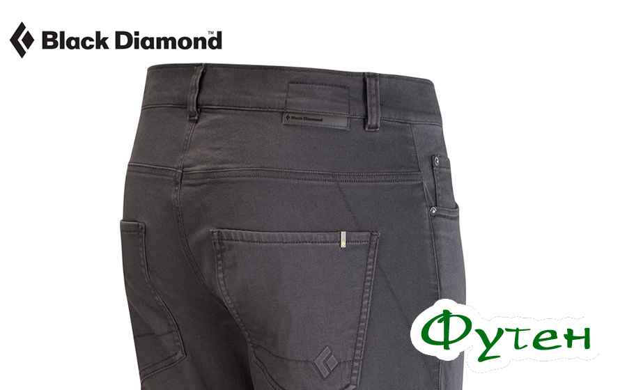 Black Diamond STRETCH FONT PANTS slate