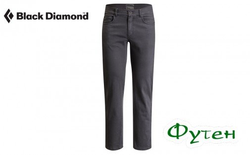 Джинсы мужские Black Diamond STRETCH FONT PANTS slate