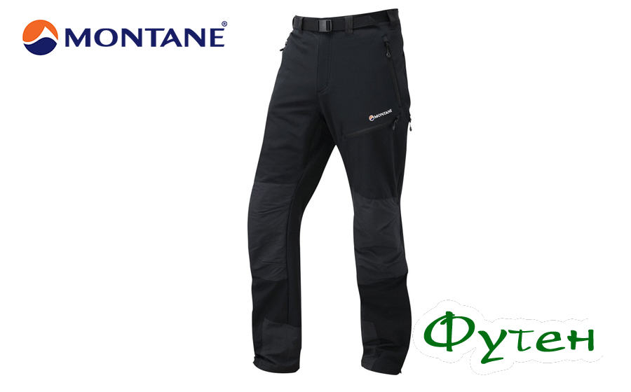 Штаны мужские Montane TERRA MISSION PANTS black