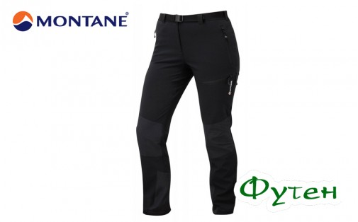 Штаны женские Montane FEMALE TERRA MISSION PANTS black