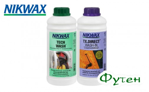 Набор NIKWAXTech wash 1л + Tx direct 1л