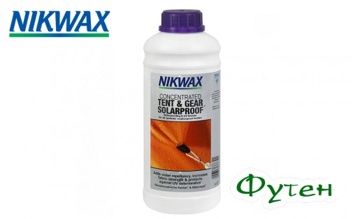 NIKWAX Tent & Gear Solarproof CONCENTRATED