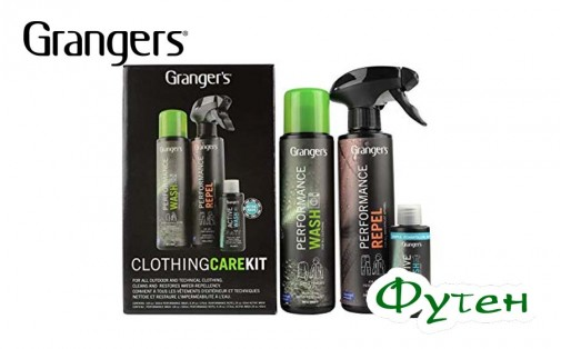 Набор для стирки GRANGERS CLOTHING CLEAN and PROOF KIT