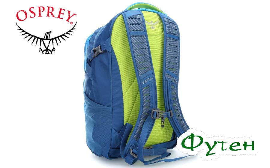 Спина рюкзака Osprey FLARE 22 oasis blue