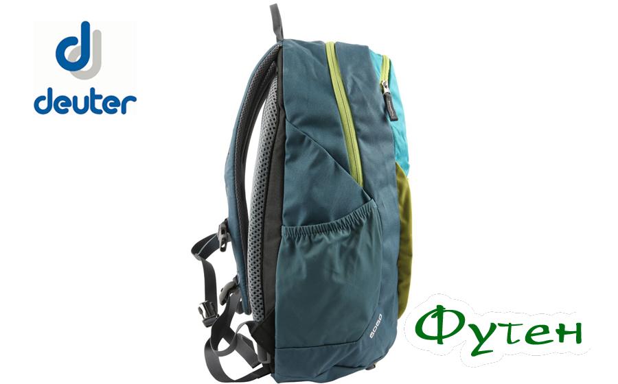 Городской рюкзак Deuter GO-GO petrol-arctic