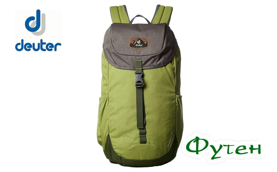 Городской рюкзак Deuter WALKER 16 moss-pine