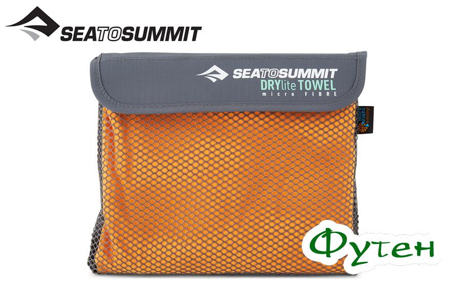 Sea to Summit DRYLITE TOWEL antibac orange S