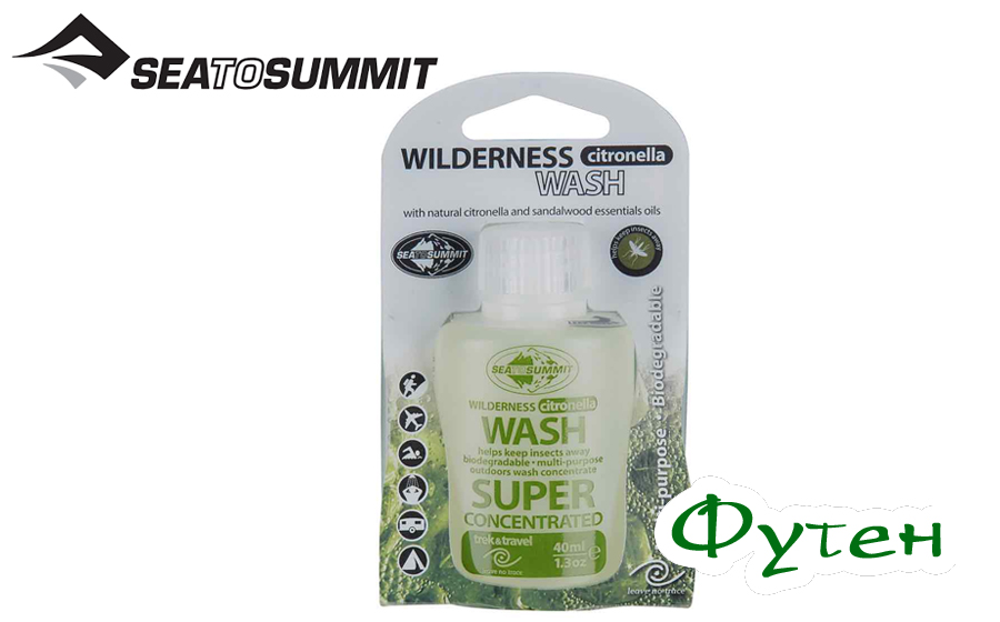 Жидкое мыло Sea to Summit WILDERNESS WASH CITRONELLA