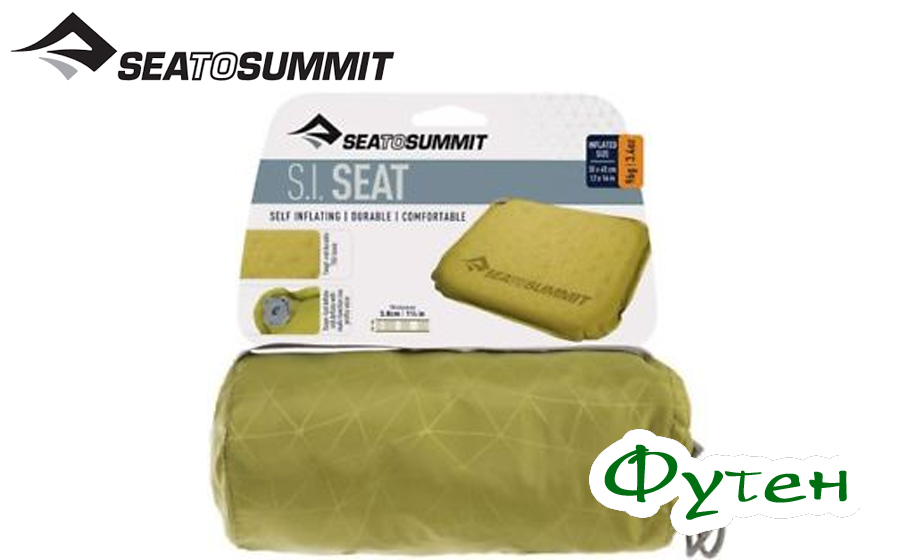 сидушка Sea to Summit SELF INFLATING DELTA V SEAT olive
