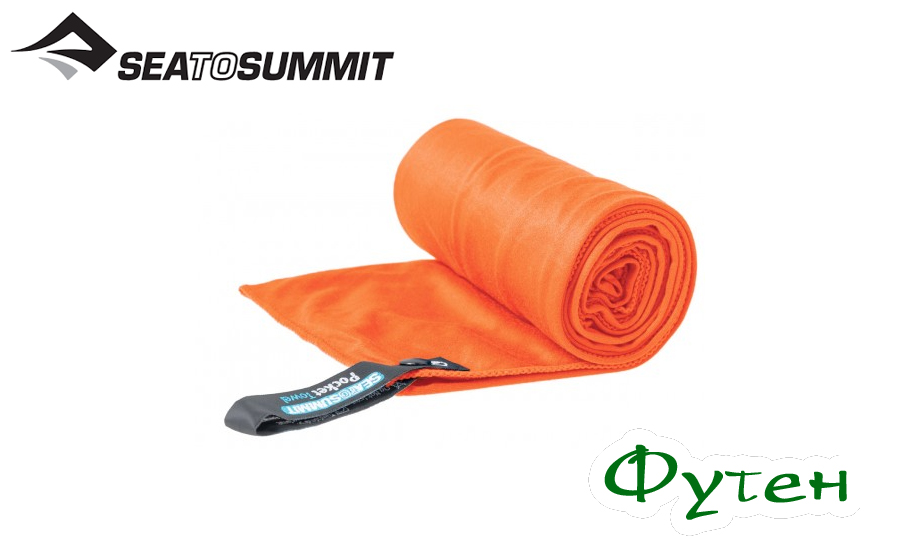 Полотенце походное Sea to Summit POCKET TOWEL orange M