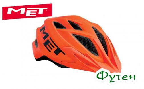 Велошлем Met CRACKERJACK orange