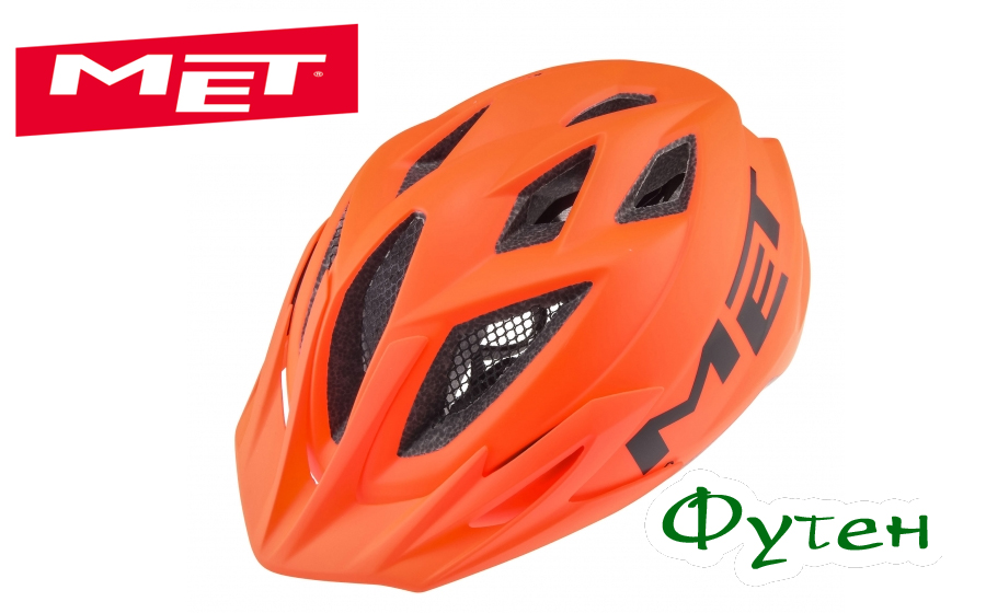 Велошлем детский Met CRACKERJACK orange