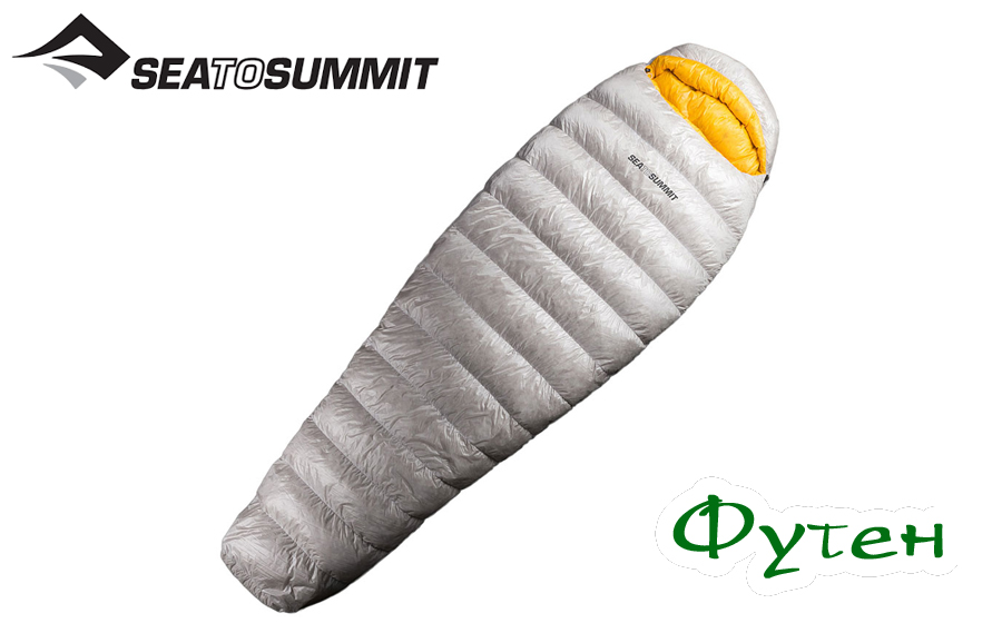 Спальник пуховой Sea to Summit SPARK SP3 LONG UD  (-20 -4 +2) Silver Л
