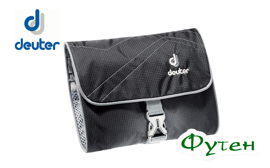 Косметичка Deuter WASH BAG I black-titan