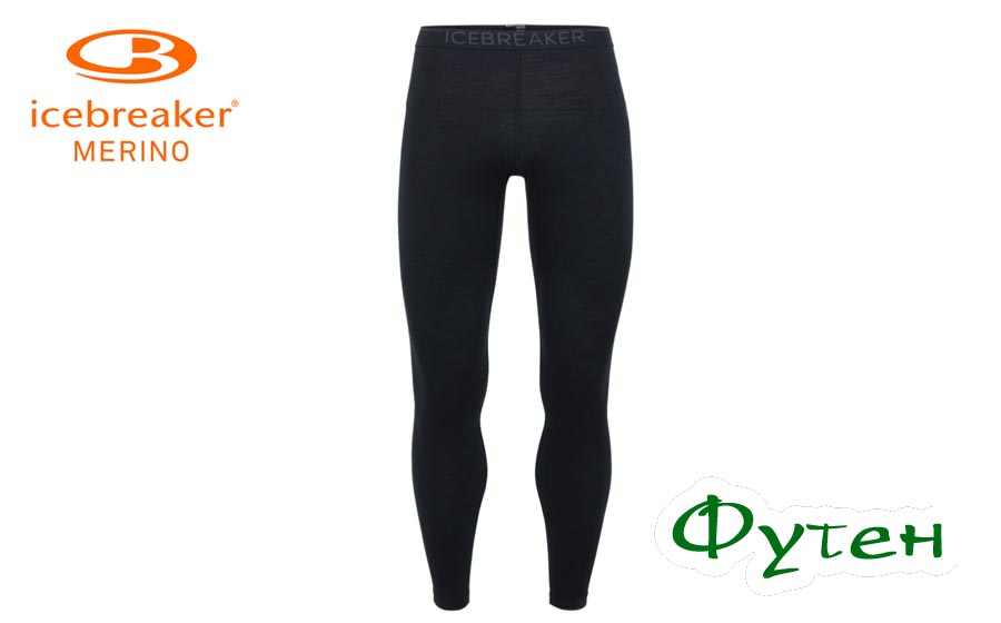 Термоштаны Icebreaker OASIS LEGGINGS MEN black/monsoon