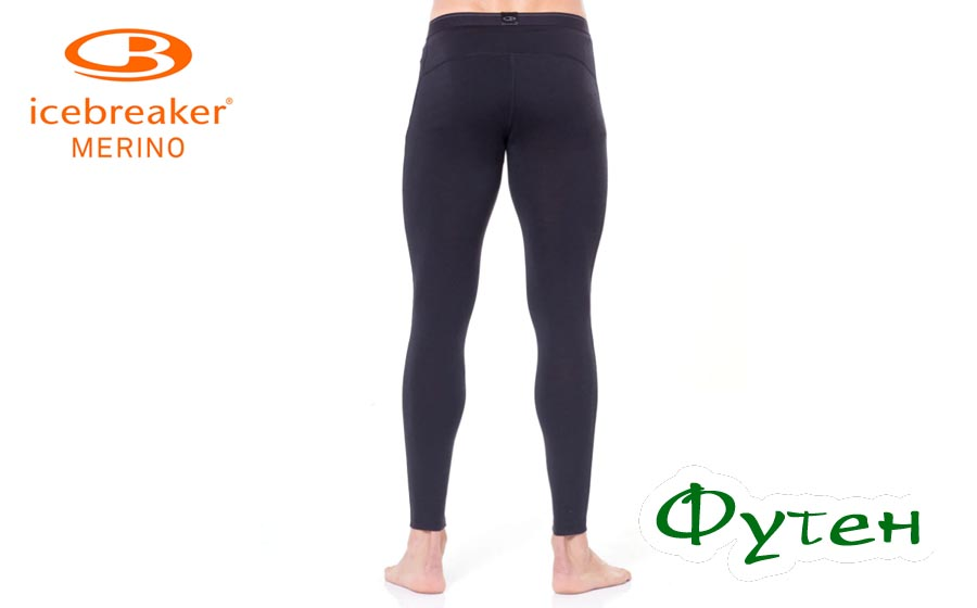 Термоштаны мужские Icebreaker OASIS LEGGINGS MEN black/monsoon